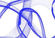 Un fondo moderno composto di bianco e di blu illustrazione vettoriale