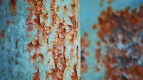 Un fondo o una textura de la corrosión metrajes