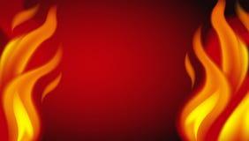 Un fondo rovente del fuoco royalty illustrazione gratis