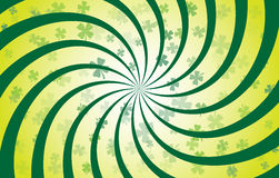 Espiral del trébol Fotografía de archivo libre de regalías