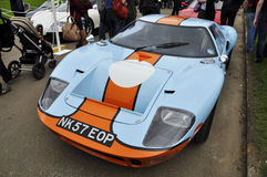 Un Ford GT40 a Chelsea AutoLegends 2011 Immagini Stock