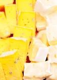 Un formaggio gentile di due af Immagini Stock