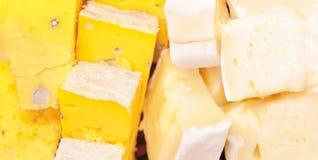 Un formaggio gentile di due af Fotografie Stock Libere da Diritti