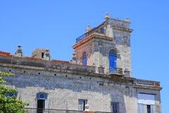 Un fort à La Havane Images libres de droits