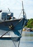 Un fragment d'un navire de guerre Photos libres de droits
