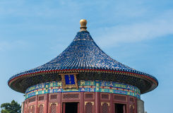 Un fragment de la terre de temple Image libre de droits