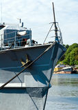 Un fragmento de un buque de guerra Fotos de archivo libres de regalías