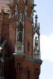 Un fragmento de una iglesia antigua en Kraków Fotografía de archivo