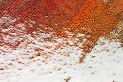 Un fragmento del mosaicos coloreados viejos Imágenes de archivo libres de regalías