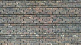Un fragmento grande de la pared de la fortaleza del ladrillo rojo foto de archivo libre de regalías