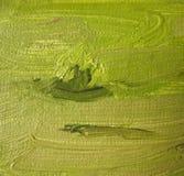 Un frammento della tela di canapa con le pitture ad olio. Backgrou Fotografia Stock Libera da Diritti