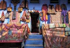 Un frente típico de la tienda en Jpdhpur foto de archivo libre de regalías