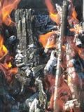 Un fuego Fotografía de archivo