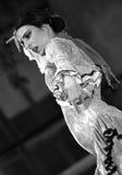 Un funcionamiento de la danza del flamenco de Alba Lucera Imágenes de archivo libres de regalías