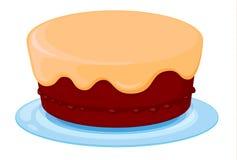 Un gâteau Photo libre de droits