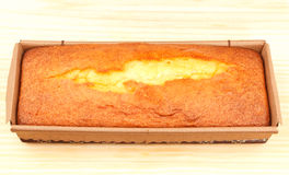 Gâteau de yaourt Photos libres de droits