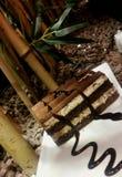 Un gâteau italien image libre de droits