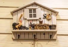 Un gancho de la llave del pollo Fotografía de archivo libre de regalías