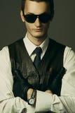 Un gangster Fotografia Stock Libera da Diritti