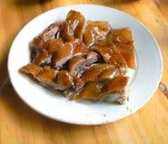 Un ganso de la carne asada Imagenes de archivo