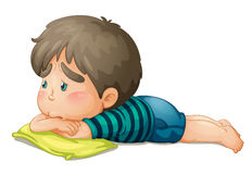 Un garçon illustration de vecteur