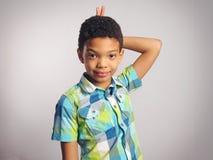 un garçon photos libres de droits