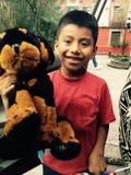 Un garçon de rue Photos libres de droits