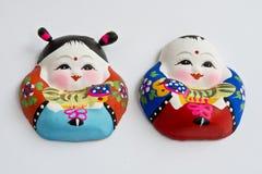 Figurines d'argile Photographie stock libre de droits