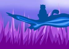 un gatto sveglio royalty illustrazione gratis