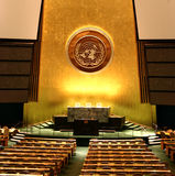 UN General Assembly Stock Photography