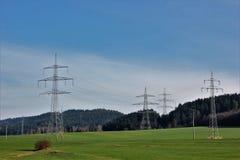 Un generatore eolico o generatore eolico Immagini Stock