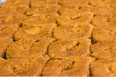 Un genere di dessert dal tacchino che ha nominato il kadayif fotografie stock