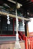Un genere di Jinja o di tempio nel Giappone immagini stock