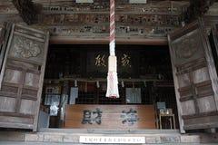 Un genere di Jinja o di tempio nel Giappone fotografia stock libera da diritti