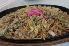 Un genere di piatto tailandese come pesce arrostito nel Giappone immagini stock libere da diritti