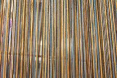 Un genre d'utilisation de handloom pour la soie faite maison de style du nord image stock