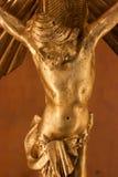 Un Gesù Cristo dell'oro Immagine Stock