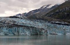 Un ghiacciaio d'Alasca fotografie stock
