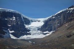 Un ghiacciaio nel corso del retrocedere Fotografia Stock Libera da Diritti