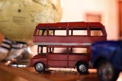 Un giocattolo del bus di Londra Fotografia Stock