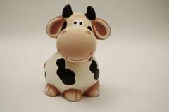 Un giocattolo di caw che lo esamina Fotografia Stock Libera da Diritti