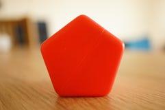 Un giocattolo di cinque bordi Fotografia Stock Libera da Diritti