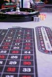 Un gioco classico delle roulette del casinò Immagini Stock Libere da Diritti