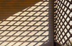 Un gioco delle ombre Immagini Stock Libere da Diritti