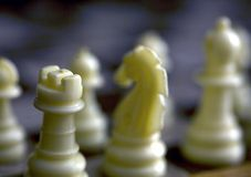 Un gioco di strategia Fotografia Stock Libera da Diritti