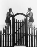 Un giorno alla spiaggia (tutte le persone rappresentate non sono vivente più lungo e nessuna proprietà esiste Garanzie del fornit fotografia stock libera da diritti