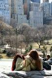 Un giorno in Central Park fotografia stock libera da diritti