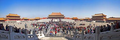 Un giorno del palazzo imperiale a Pechino Fotografie Stock Libere da Diritti
