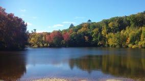 Un giorno dell'autunno Fotografia Stock