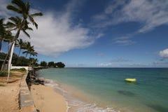Un giorno di estate dalla spiaggia Immagine Stock Libera da Diritti